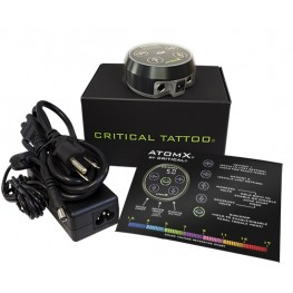Critical AtomX Black Tattoo Power Supply