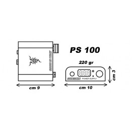 Alimentation PS100 Sunkin