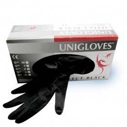 Unigloves gants Select Black en latex