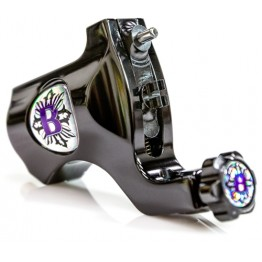Bishop Rotary Tattoo Machine Polished Black