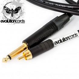 Evolutioncords Câble RCA Droit