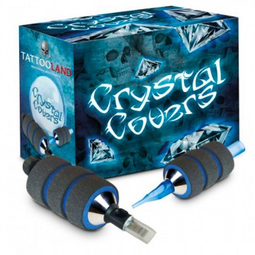 Crystal Couvercles en mousse à mémoire de forme - 25 mm à 45 mm-4589