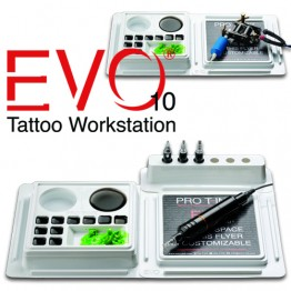 Evo 10 Tattoo Workstation
