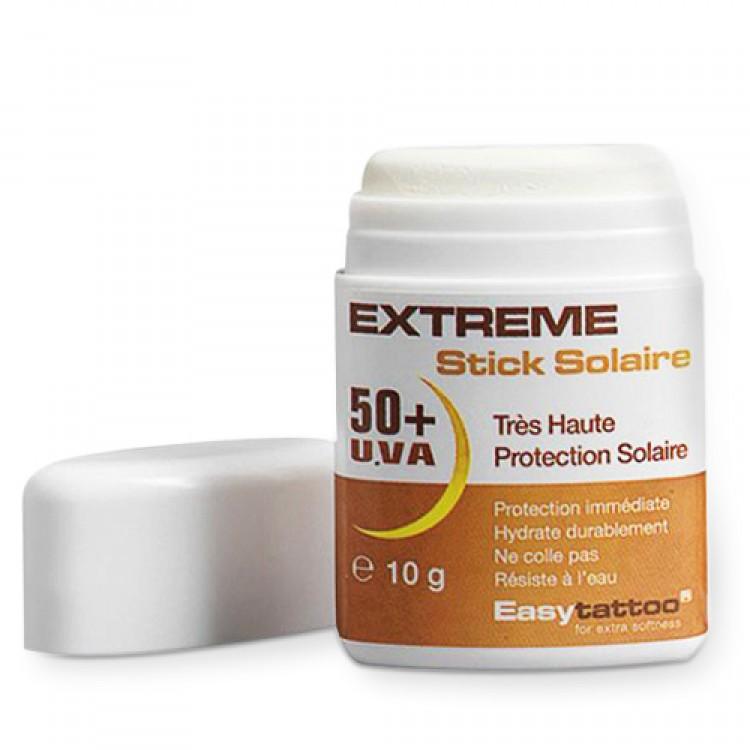 Creme Solaire Tatouage extreme stick solaire 50 + uva - crème solaire 50 +