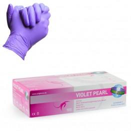 Unigloves gants violet pearl en nitrile