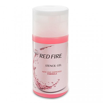 Red Fire - Stencil Gel-162