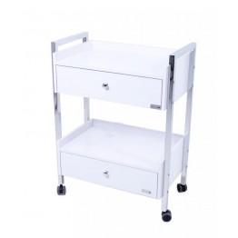 Chariot de soins avec tiroirs