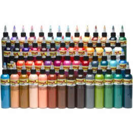 Kit de 54 encres couleurs Intenze