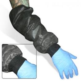 Manchons de protection avec poignet élastique côtelée