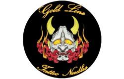 Gold Line aiguilles de tatouages