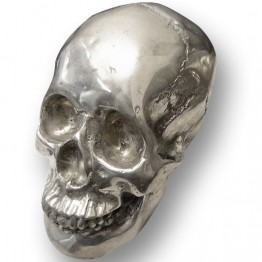 Crâne en métal