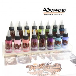 A.D. Pancho ProTeam Color Set WORLD FAMOUS INK