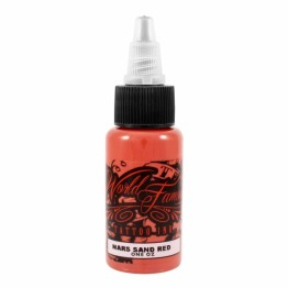 World Famous Ink Mars Sand Red